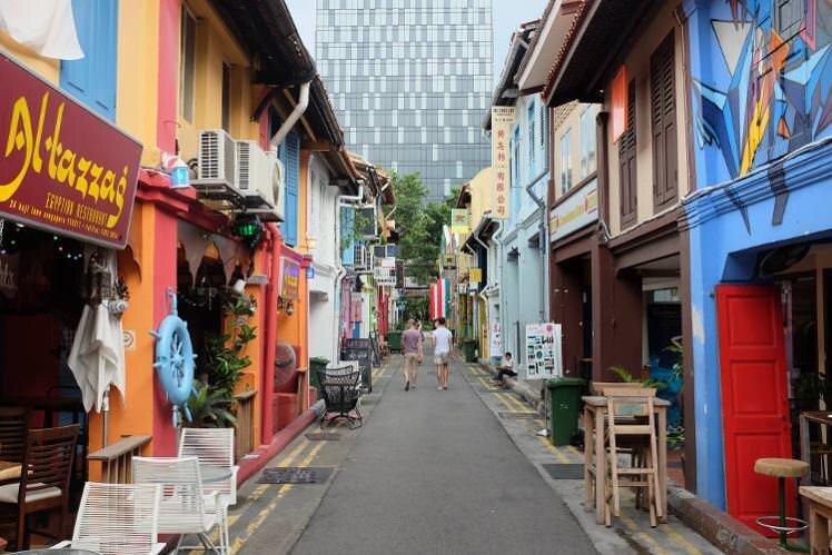 Những con đường mua sắm nổi tiếng tại Singapore
