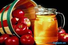 Những công dụng tuyệt vời của giấm táo đối với sức khỏe