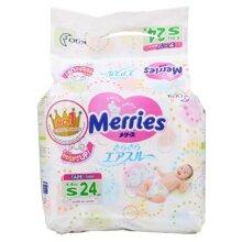 Những điểm mẹ cần biết về bỉm Merries Size S