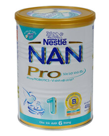 Những điều các mẹ cần biết về sữa bột Nan Pro 1 400g