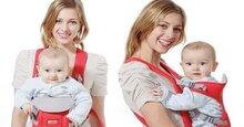 Những điều cần biết để dùng địu đúng cách và an toàn cho bé