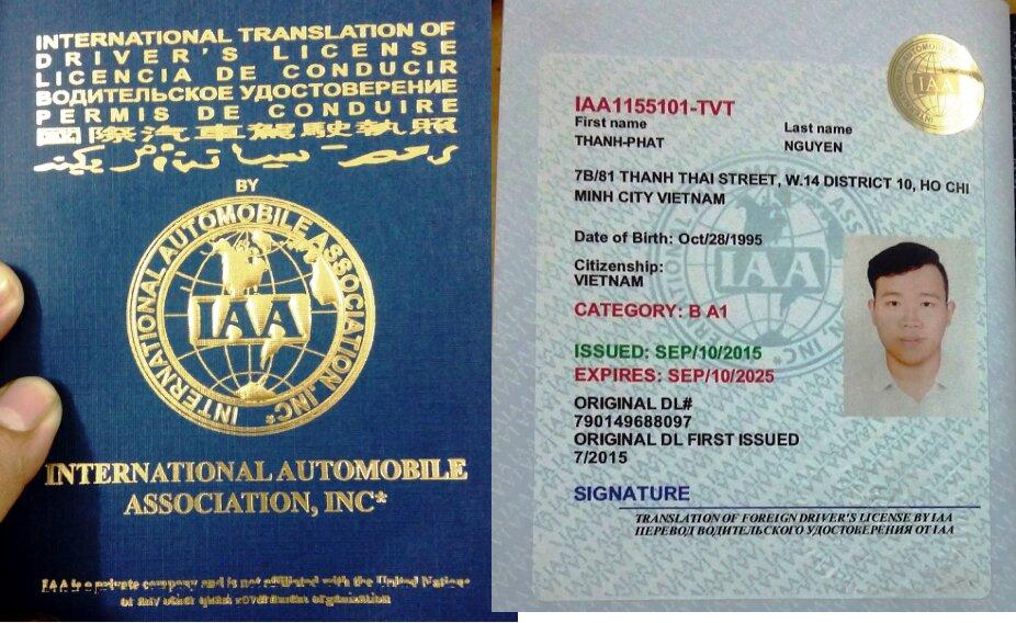 Những điều cần biết về đổi bằng lái xe quốc tế tại Việt Nam