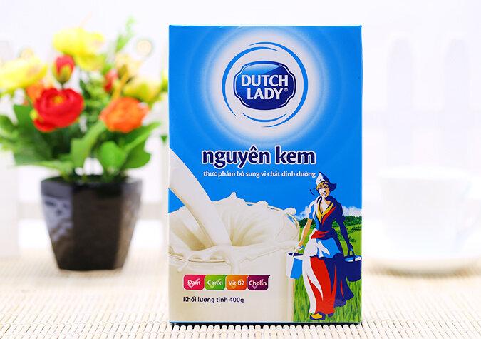 Những điều mẹ cần biết về sữa bột nguyên kem Cô gái Hà Lan