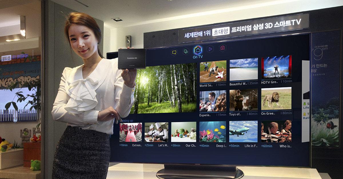 Những điều thú vị về thương hiệu smart tivi Samsung năm 2018