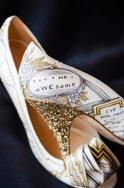 """Những đôi giày cưới chỉ dành cho các cô dâu mê đồ """"độc"""""""