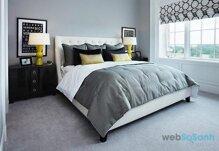 Những gam màu cho nội thất phòng ngủ tuyệt đẹp đón thu về