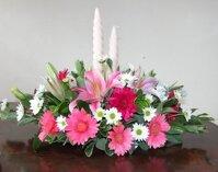 Những giỏ hoa đẹp dễ cắm ngày Tết