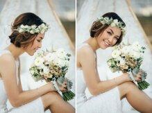 Những kiểu tóc cưới đẹp nhất cho cô dâu tóc ngắn