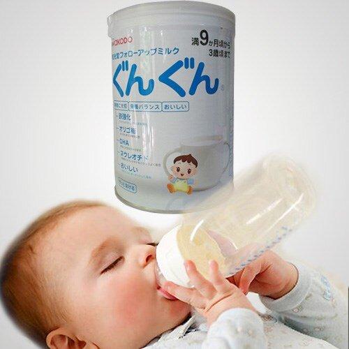 Những lí do nên chọn sữa bột Wakodo Gungun số 9 cho bé