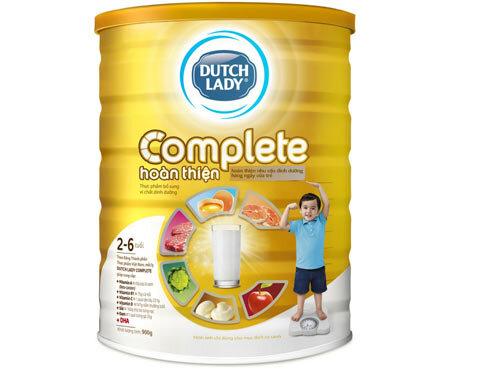 Những lí do nên chọn sữa bột Dutch Lady Complete cho bé biếng ăn