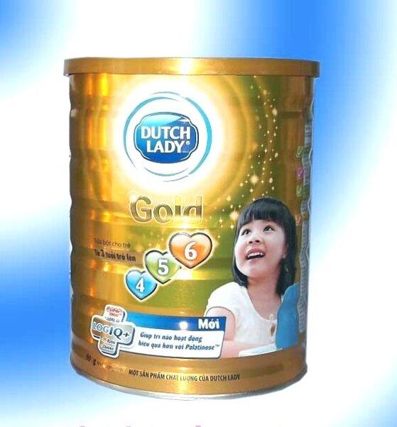 Những lí do nên chọn sữa bột Dutch Lady Cô gái Hà Lan Gold 456 cho bé
