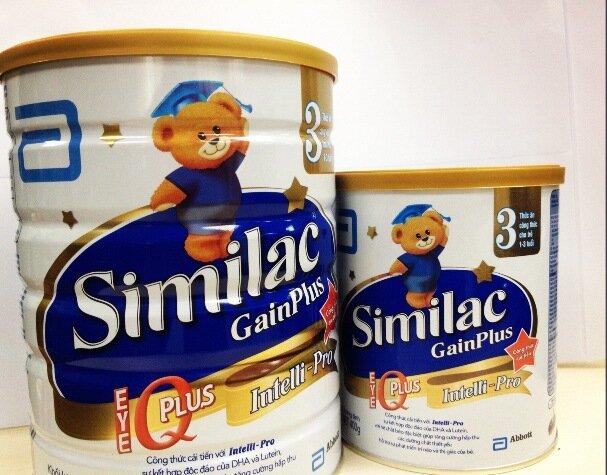 Những lí do nên chọn sữa bột Abbott Similac Gain Plus IQ 3 cho bé từ 1 đến 3 tuổi