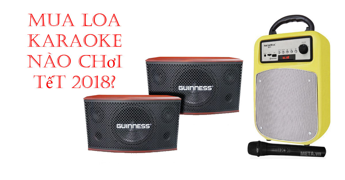 Những loa karaoke hát hay, giá chỉ dưới 5 triệu đồng chơi Tết