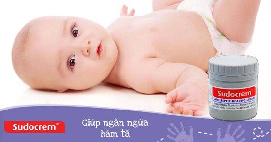 Những loại kem chống hăm tốt nhất cho trẻ sơ sinh