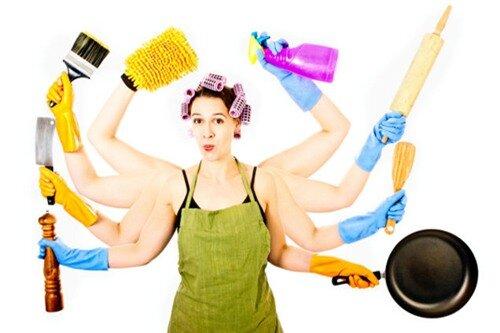 """Những lời khuyên cho chị em """"sợ"""" dọn dẹp nhà cửa"""