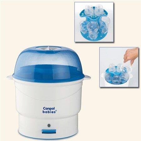 Những lưu ý khi sử dụng máy tiệt trùng bình sữa Canpol Babies 12/200