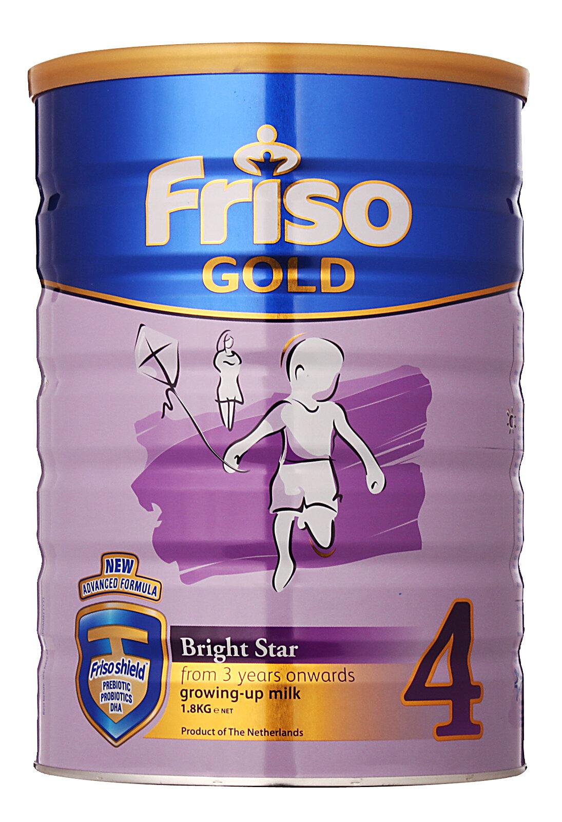 Những lý do mẹ nên chọn sữa bột Friso Gold 4 cho bé từ 4 đến 6 tuổi