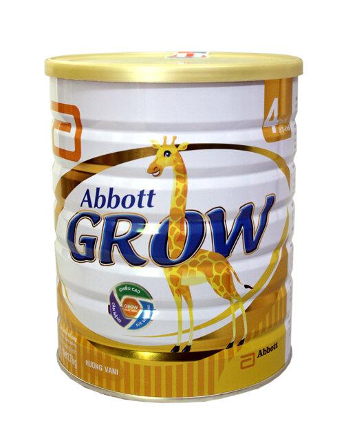 Những lý do nên chọn sữa bột Abbott Grow 4 cho bé từ 3 đến 6 tuổi