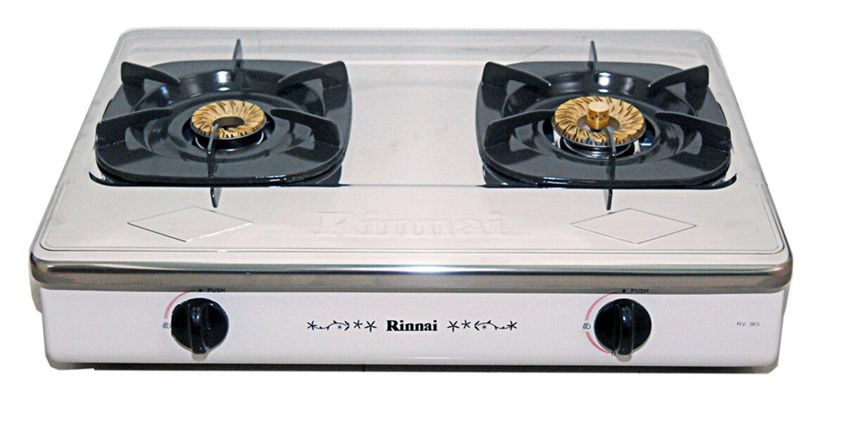 Những mẫu bếp gas dương Rinnai giá rẻ đáng mua nhất năm 2018