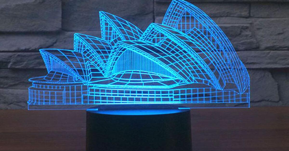 Những mẫu đèn ngủ 3D cực ấn tượng năm 2017