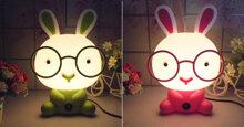 Những mẫu đèn ngủ hình ngộ nghĩnh đáng yêu cho bé