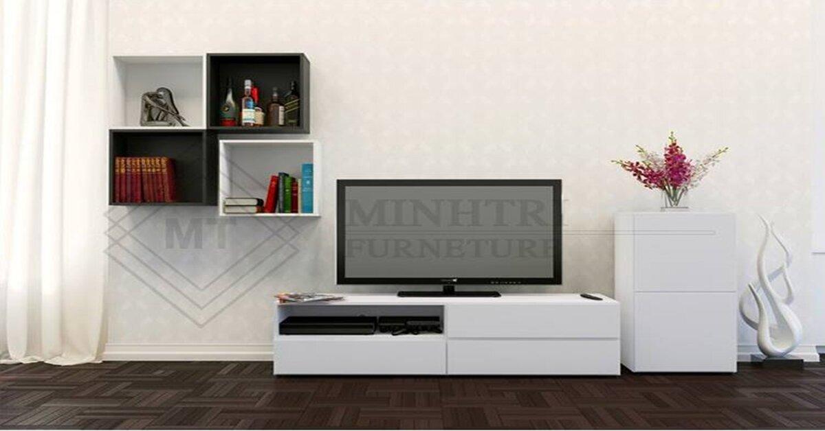 Những mẫu kệ tivi nhỏ đẹp cho căn hộ ấm cúng