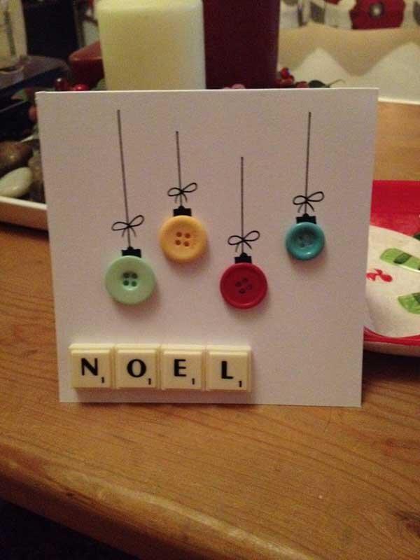 Những mẫu thiệp Giáng sinh handmade đẹp dành cho bạn gái khéo tay
