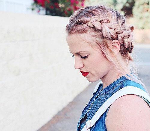 Những mẫu tóc tết cực xinh xắn dành cho các cô nàng điệu đà