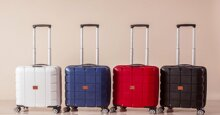 Những mẫu vali kéo 20inch thiết kế đẹp đáng tham khảo
