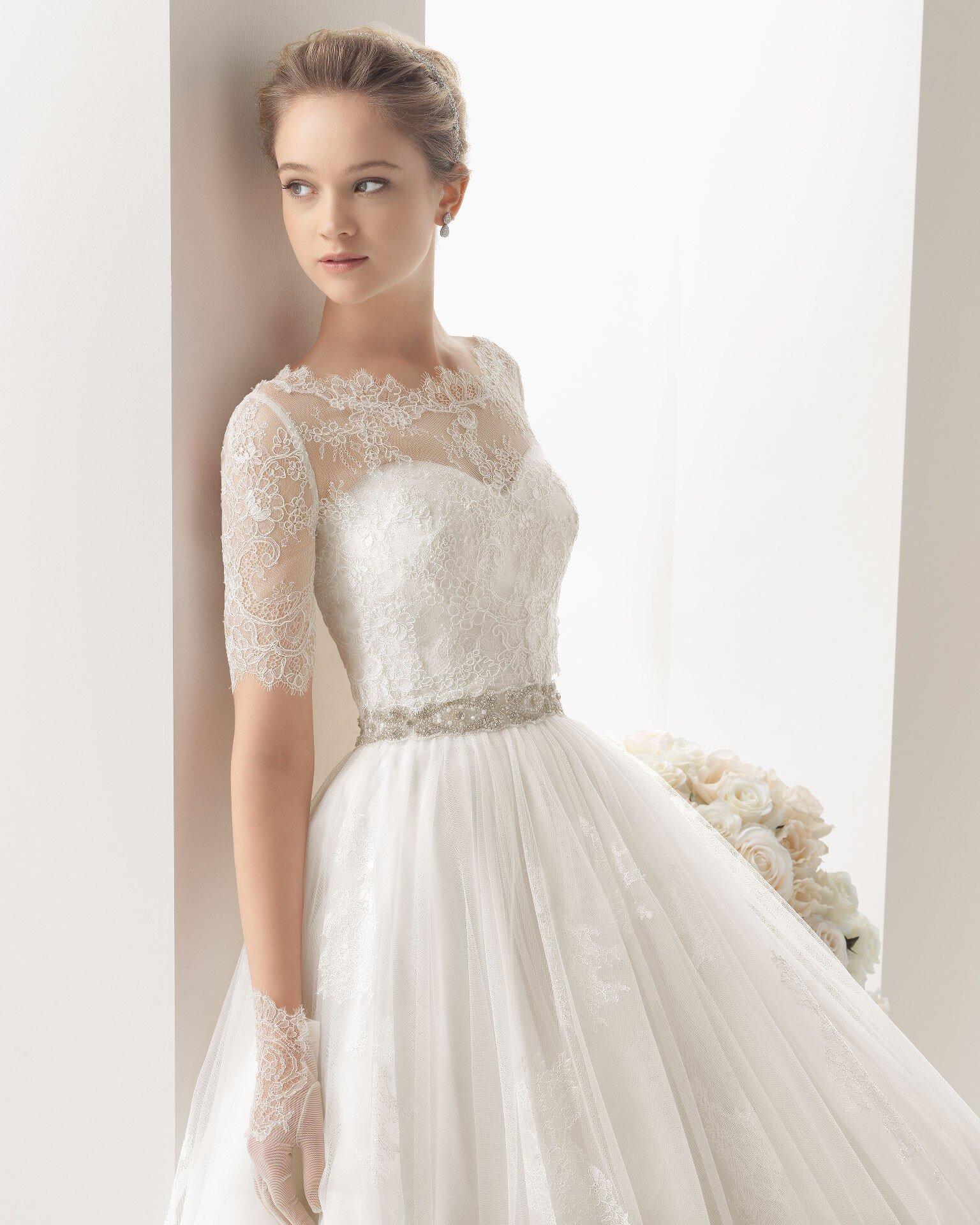 Những mẫu váy cưới tuyệt đẹp dành cho cô dâu gầy