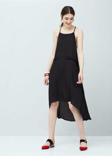 Những mẫu váy Mango mới nhất giúp bạn gái khoe vai trần điệu đà quyến rũ