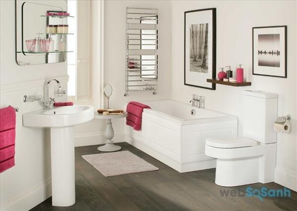 Những nguyên tắc bạn cần biết trong thiết kế nội thất phòng tắm
