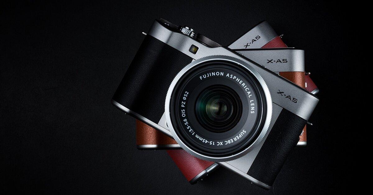 Những phụ kiện dành cho máy ảnh Fujifilm X-A5