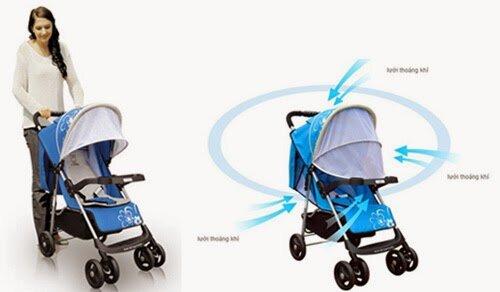 Những sai lầm mẹ thường mắc phải khi sử dụng xe đẩy cho bé dưới 6 tháng tuổi