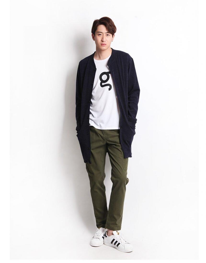 Những set đồ đẹp với áo cardigan dáng dài dành cho nam giới