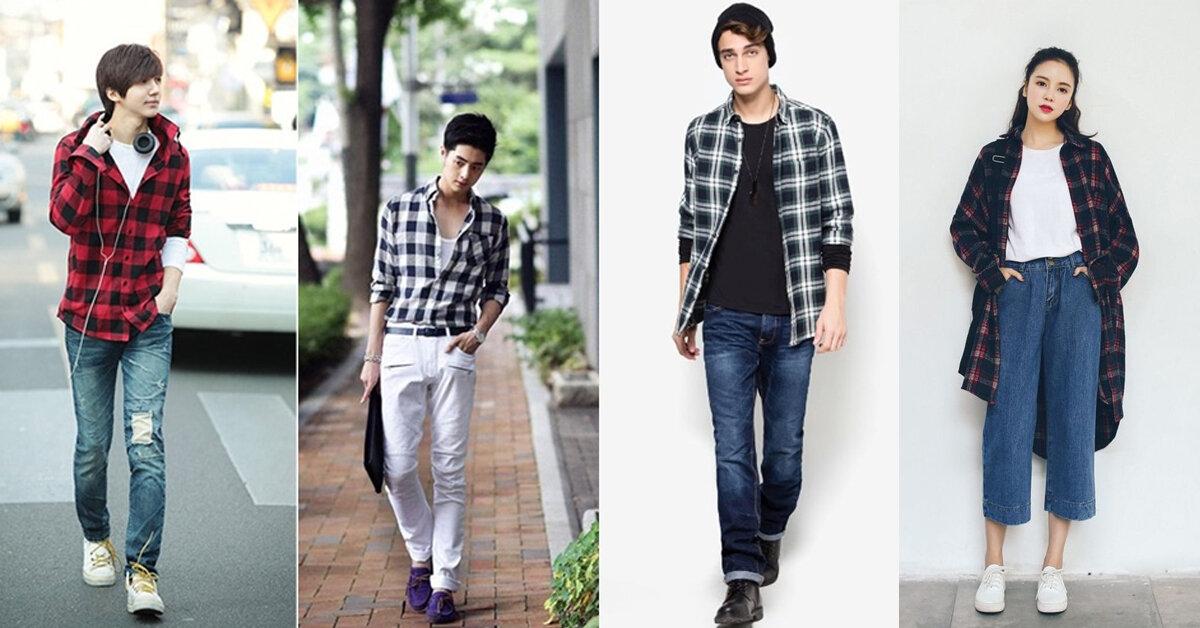 Những style áo sơ mi khoác ngoài nam CỰC CHẤT cho nam & nữ