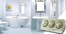 Những thắc mắc xung quanh việc lựa chọn đèn sưởi phòng tắm