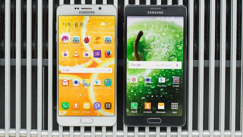 Những thay đổi nhỏ giúp Galaxy Note 5 ấn tượng hơn Galaxy Note 4