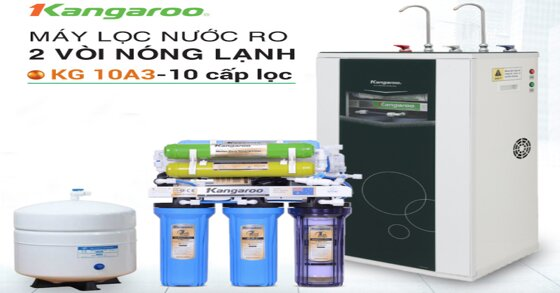 Những thông tin chi tiết về máy lọc nước Kangaroo kg10a3
