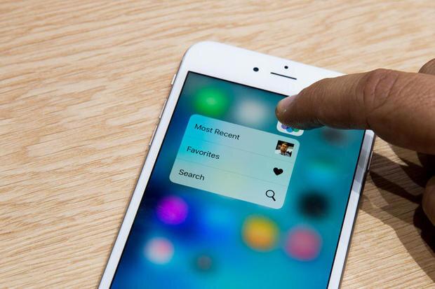 """Những tính năng bạn có thể """"nghịch"""" cùng 3D Touch trên iPhone 6s, 6s Plus"""