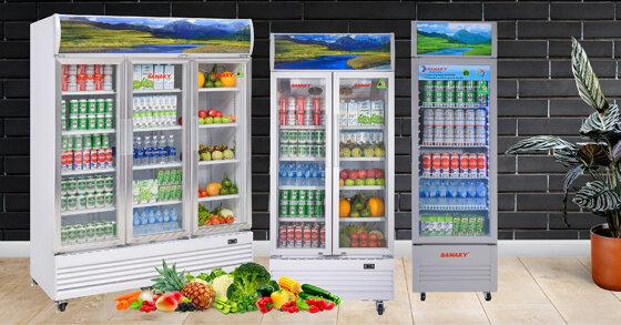 """Những tủ mát sanaky """"được lòng"""" người tiêu dùng nhất hiện nay"""