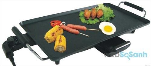 Những ưu điểm của bếp nướng điện không khói