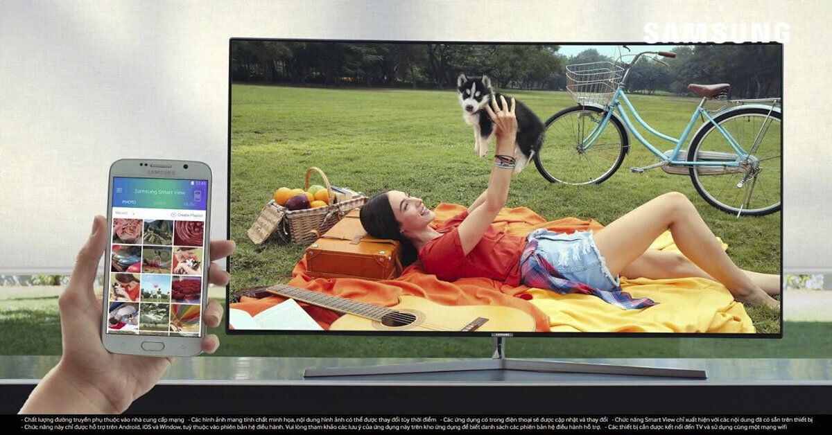 Những ưu điểm của smart tivi Samsung