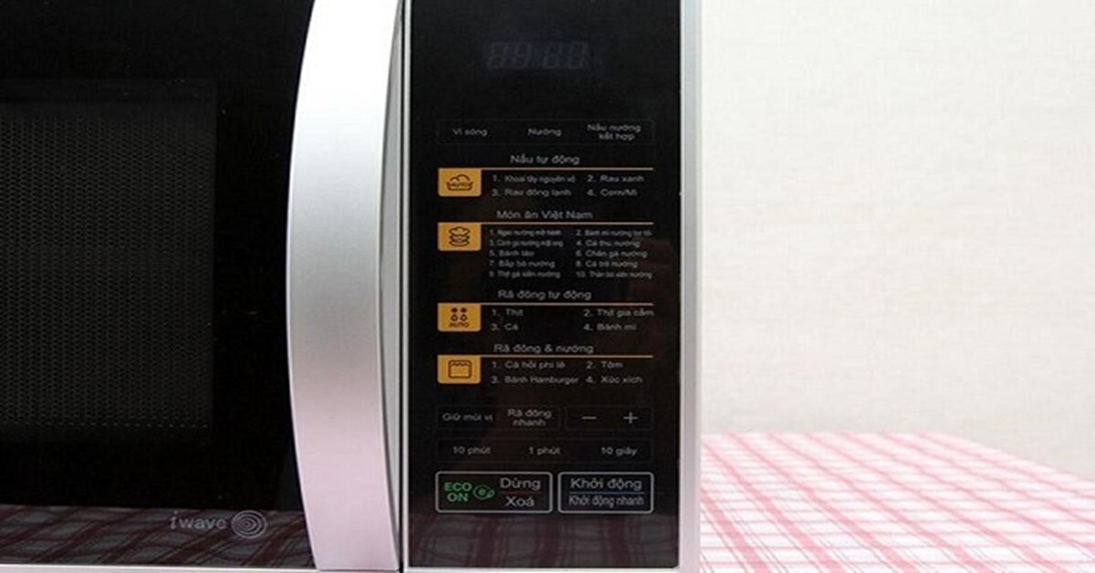 Những ưu điểm đáng chọn mua của lò vi sóng LG