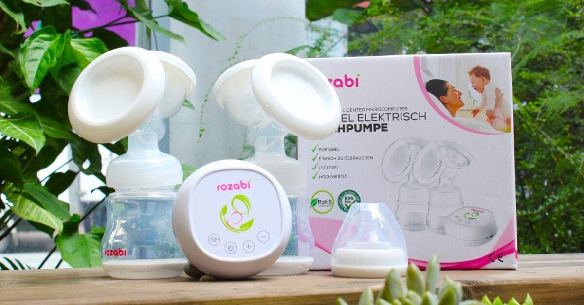 Những ưu điểm nổi bật của máy hút sữa Rozabi