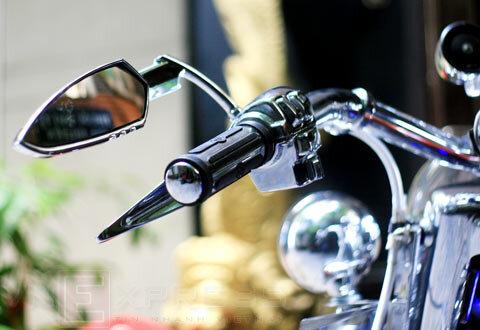 Những vi phạm liên quan đến gương chiếu hậu xe máy