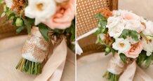 Những ý tưởng đám cưới với bảng màu vàng hồng sang trọng và rực rỡ