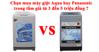 Chọn mua máy giặt Aqua hay Panasonic trong tầm giá từ 3 đến 5 triệu đồng ?