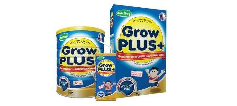 Sữa bột Grow Plus+ xanh
