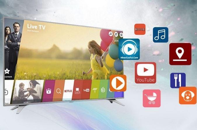 Hệ điều hành WebOS trên tivi LG